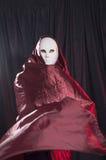 Mensenwhit een Venetiaans Carnaval-masker 6 Royalty-vrije Stock Foto