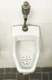 Mensenzaal met urinoir-Alternatieve hieronder meningen Royalty-vrije Stock Foto's