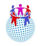 Mensheid samen Royalty-vrije Stock Afbeelding
