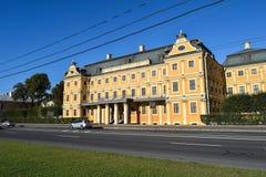 Menshikov宫殿在圣彼德堡,俄罗斯 库存图片