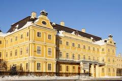 menshikov宫殿彼得斯堡俄国圣徒 库存图片