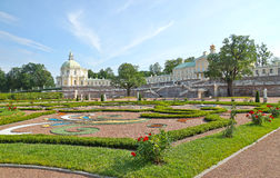 Menshikov Palace and garden in Oranienbaum Royalty Free Stock Photography