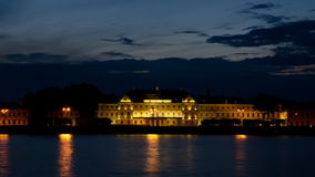 The Menshikov Palace at night, St. Petersburg Royalty Free Stock Photography