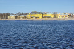 The Menshikov Palace in Saint Petersburg, Russia Royalty Free Stock Image