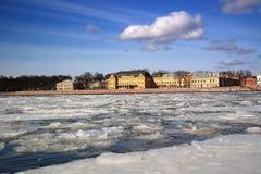 St. Petersburg, Menshikov Palace. View of the Menshikov Palace in St. reterburge Stock Images