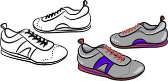 mensinstruktörer stock illustrationer