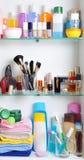 Mensola della stanza da bagno Fotografie Stock