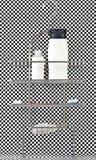 Mensola della stanza da bagno dell'acciaio inossidabile Fotografia Stock