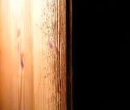 Mensola di legno immagini stock