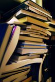 Mensole di libro in libreria Fotografia Stock