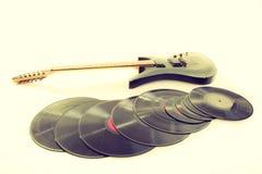 Mensonge musical d'équipement prêt à employer Images libres de droits