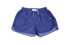 menswear Shorts per il blu di nuoto fotografia stock libera da diritti