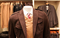 Menswear store Royalty Free Stock Photo