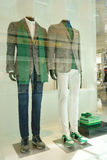 Menswear ZZegna department store Germany Stock Image