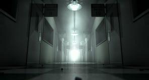 Mental Asylum Haunted Stock Photo
