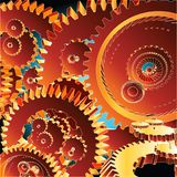 Mental Gears Royalty Free Stock Image