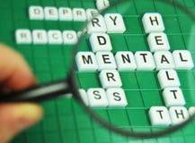 mental hälsa Arkivfoton