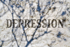 Mental health. Conceptual expression of complexity of the human mind Royalty Free Stock Photos