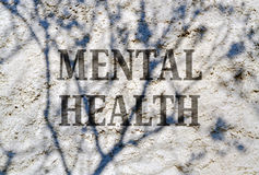 Mental health. Conceptual expression of complexity of the human mind Royalty Free Stock Image