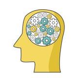 Mental health design. Icon vector illustration graphic design Stock Photo