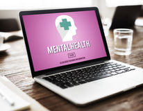 Mental Health Emotional Medicine Psychology Concept.  stock images