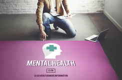 Mental Health Emotional Medicine Psychology Concept royalty free stock photos