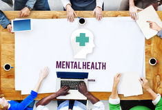 Mental Health Emotional Medicine Psychology Concept. Mental Health Emotional Medicine Psychology royalty free stock images