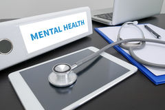 MENTAL HEALTH Stock Photo