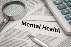 Mental health Stock Image