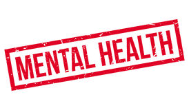 Mental Health rubber stamp Royalty Free Stock Photos