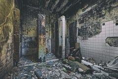 Mental Hospital Bathroom Royalty Free Stock Images