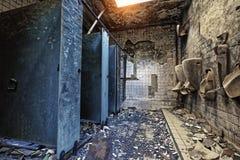 Mental Hospital Bathroom Stock Photography