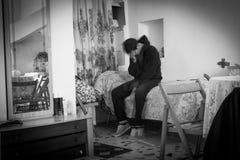 Mental illness D-epression Stock Photos