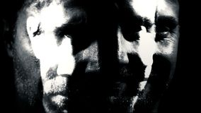 Mental illness personality disorder insane schizophrenia abstract stock video