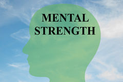 Mental Strength concept Stock Photos