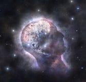 Mente cósmica imagens de stock royalty free