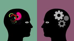 Mente creativa CONTRA mente lógica
