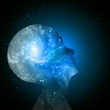 Mente da galáxia Imagem de Stock