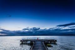 Mente del cielo azul Imagen de archivo
