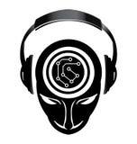 Mente electrónica de DJ Imágenes de archivo libres de regalías