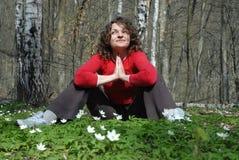 Mente femenina Foto de archivo libre de regalías