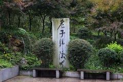 Mente; moal; taoism Fotografia Stock Libera da Diritti
