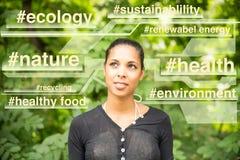 Mente sostenible Foto de archivo libre de regalías