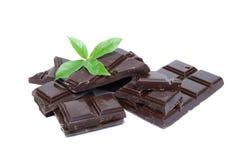 Menthe et chocolat Photo libre de droits