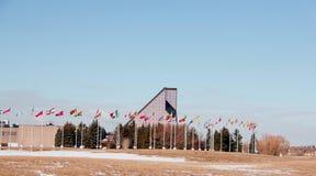 Menthe royale de Canadien dans Winnipeg, Manitoba images libres de droits