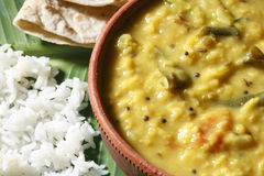 Menthi Dal or Fenugreek Lentil Curry Stock Image