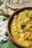 Menthi Dal or Fenugreek Lentil Curry Stock Photo