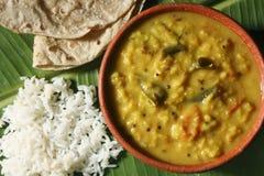 Menthi Pappu or Methi Dal Curry Stock Image