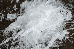 Menthol Crystals royalty free stock photography