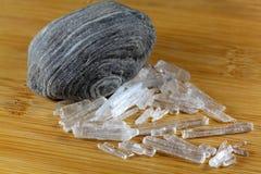 Menthol Crystals Royalty Free Stock Photos
